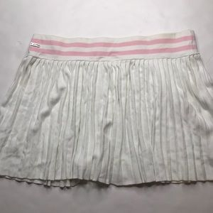 Lilly Pulitzer tennis skirt sz large pink & white